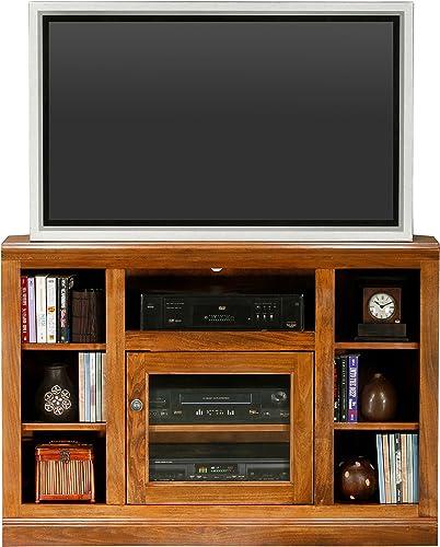 Eagle Coastal Thin Corner TV Cart, 45 , Bright White Finish