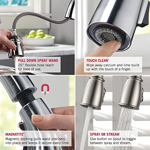 Delta Faucet 9178-AR-DST Leland Single Handle Pull-Down Kitchen Faucet review