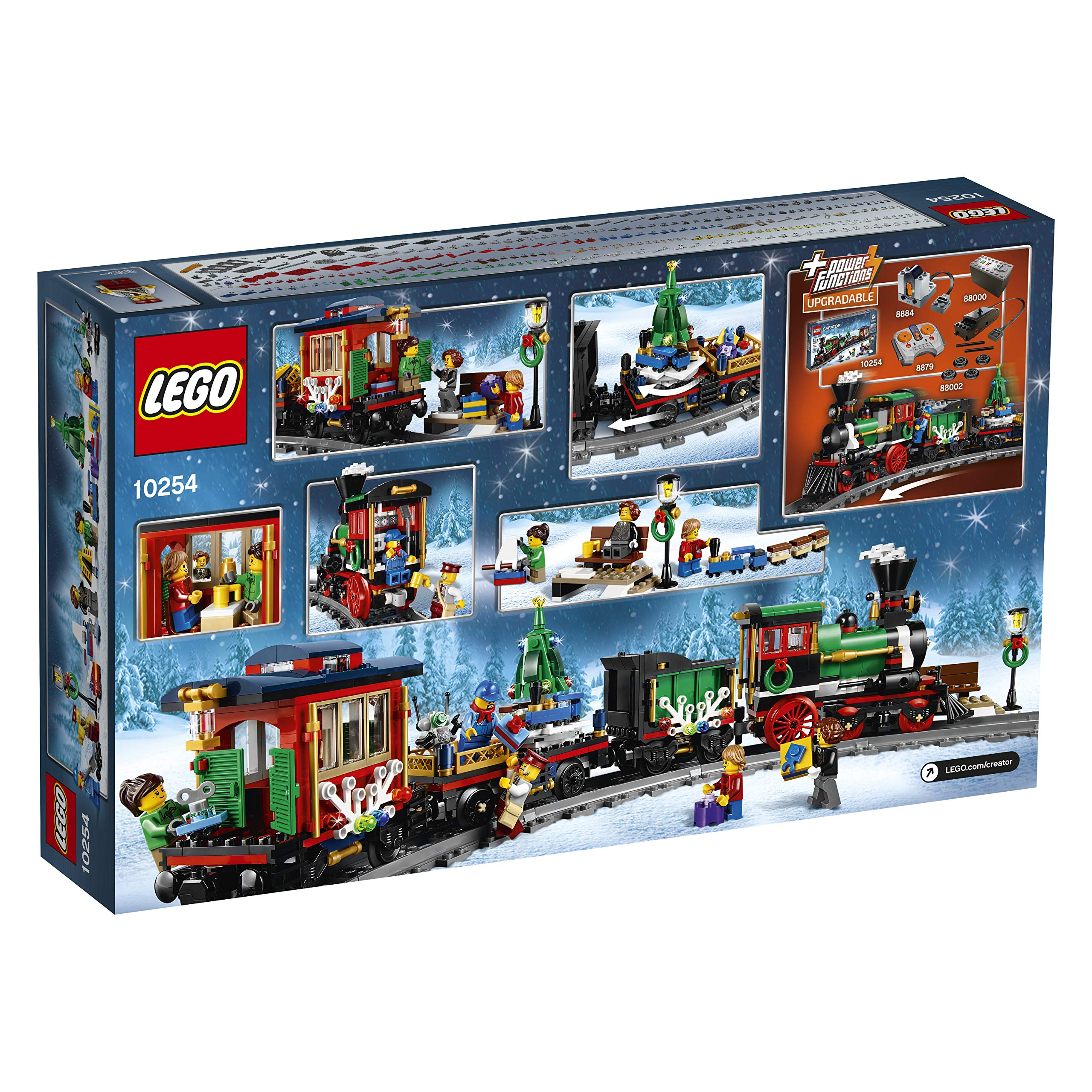 lego creator expert winter holiday train 10254. Black Bedroom Furniture Sets. Home Design Ideas