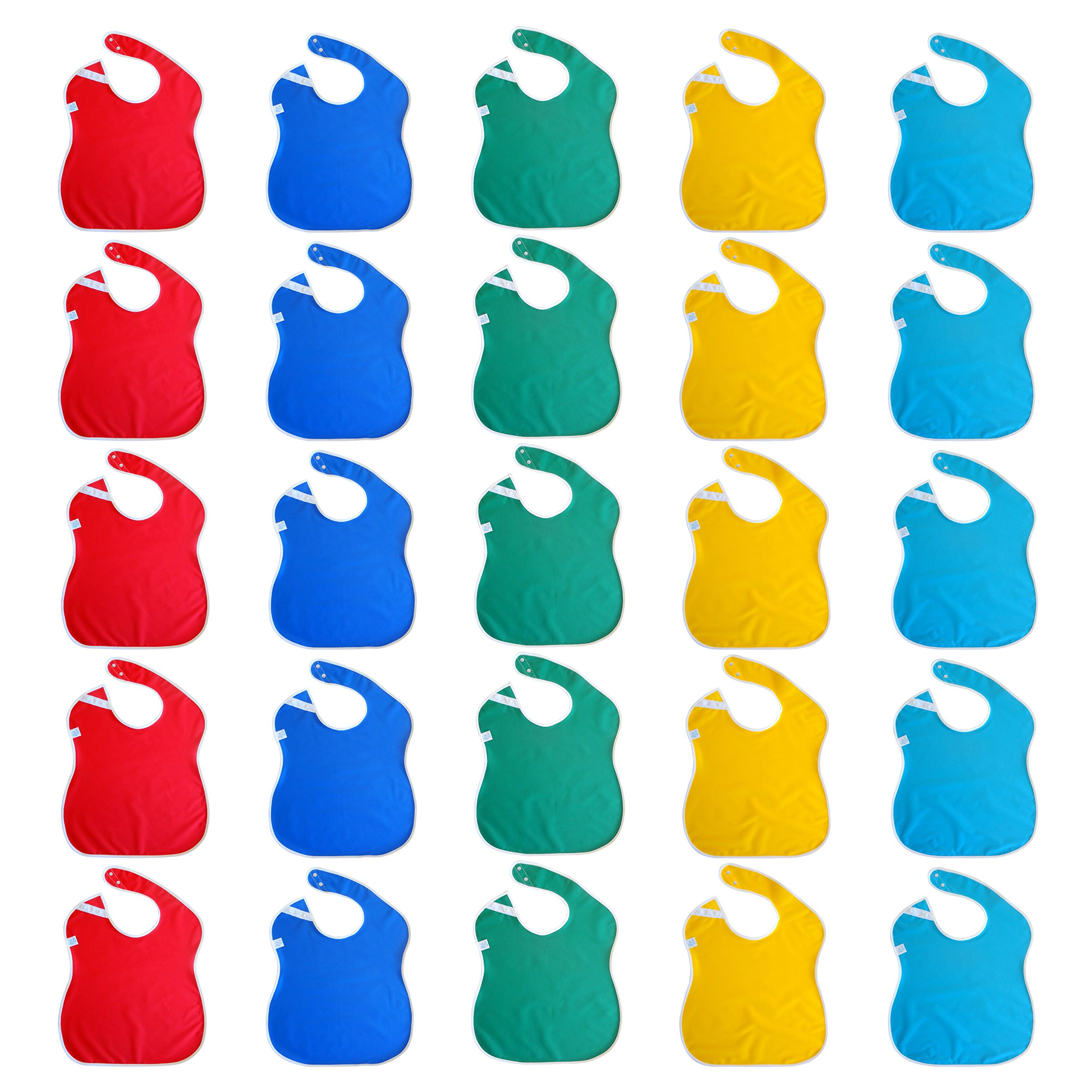 Toppy Toddler Wholesale Baby Bibs in Bulk 25-pack by Toppy Toddler (Image #1)