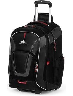 89fe236ae07 Amazon.com  High Sierra Freewheel Wheeled Laptop Backpack, Black ...