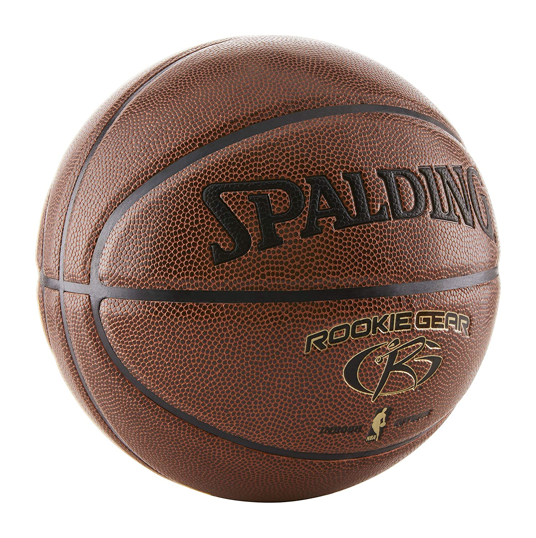 ae9eb383e56ea9 Amazon.com  Spalding Rookie Gear Basketball - Brown - Youth Size (27.5