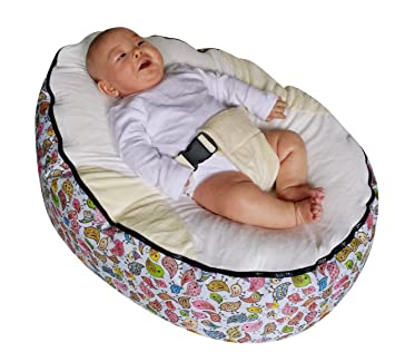 Cool Amazon Com Mama Baba Baby Bean Bag Without Filling Baby Bralicious Painted Fabric Chair Ideas Braliciousco