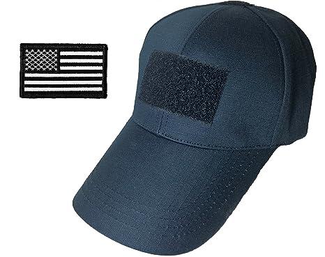 Ranger Return Tactical Operator Navy Blue Baseball Adjustable Hat Cap with USA  Flag Patch - Black (TCAP-NVBL-USA-BKWH)  Amazon.co.uk  Clothing 1bf71e37e12c