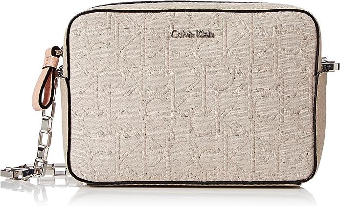 Calvin Klein JENNIFER MICRO CROSSBODY, Borse Donna, BEACH