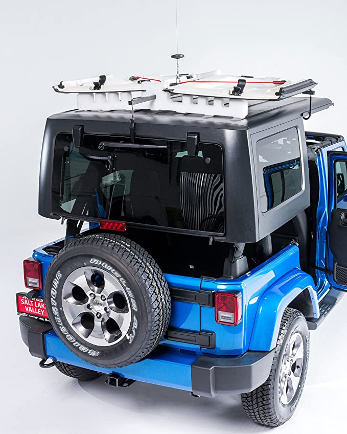 014-210 formerly 014-601 Lange Originals Power Hoist a Top Hard Top,  Hardtop Jeep Wrangler Unlimited Top Removal System