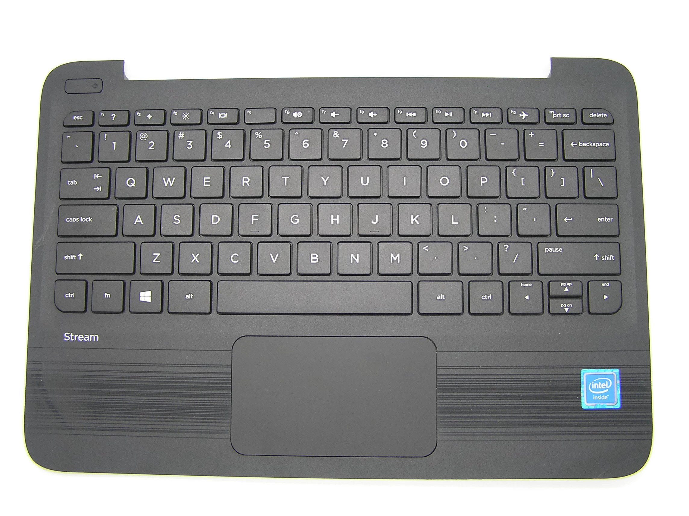 New Genuine HP Stream 11 Pro G3 Series Palmrest TouchPad With Keyboard 908297-001 908301-001