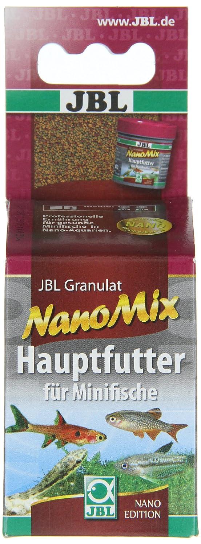 JBL - Pienso completo para peces pequeños de acuario, granulado, novogranomix: Amazon.es: Productos para mascotas