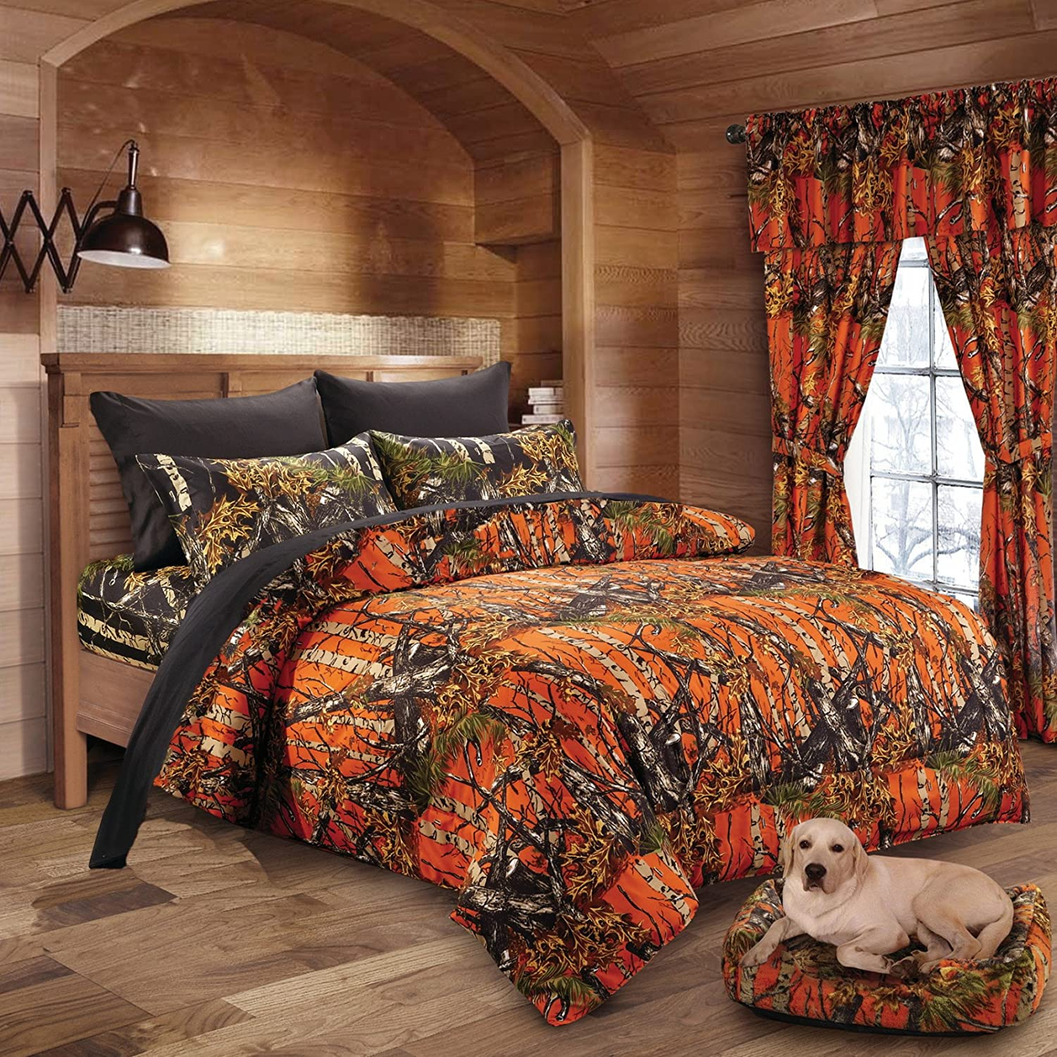 bed queen premium camo luxury deep sets woods products collections hats tees original black camouflage the bedding comforte hunting hoodies midnight