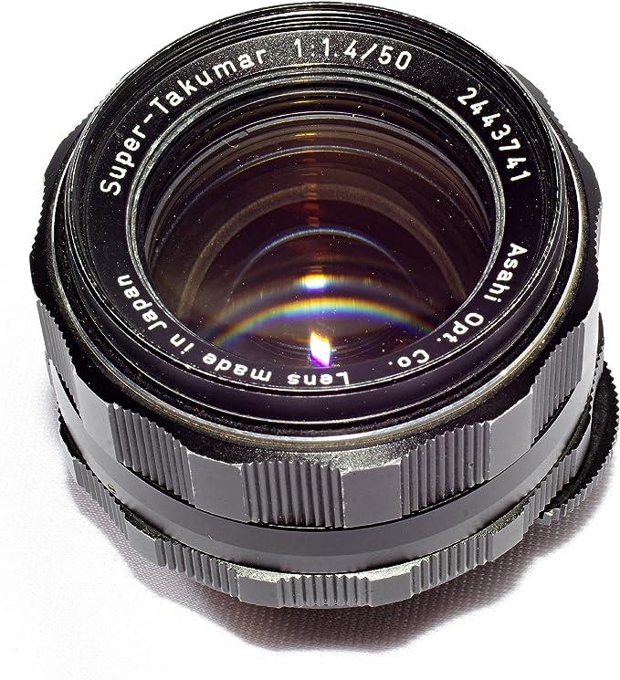 Versión temprana Pentax Super Takumar 1.8//55mm Lente de fotograma completo M42 tornillo de montaje Raro