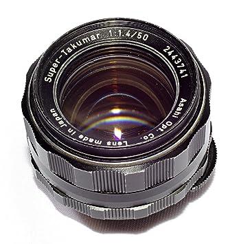 Asahi Pentax Super Takumar 50mm F/1 4 Prime Lens, Fully Cla