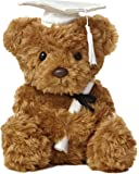 "Aurora - Graduation - 8.5"" Wagner Bear Graduation - White Cap"