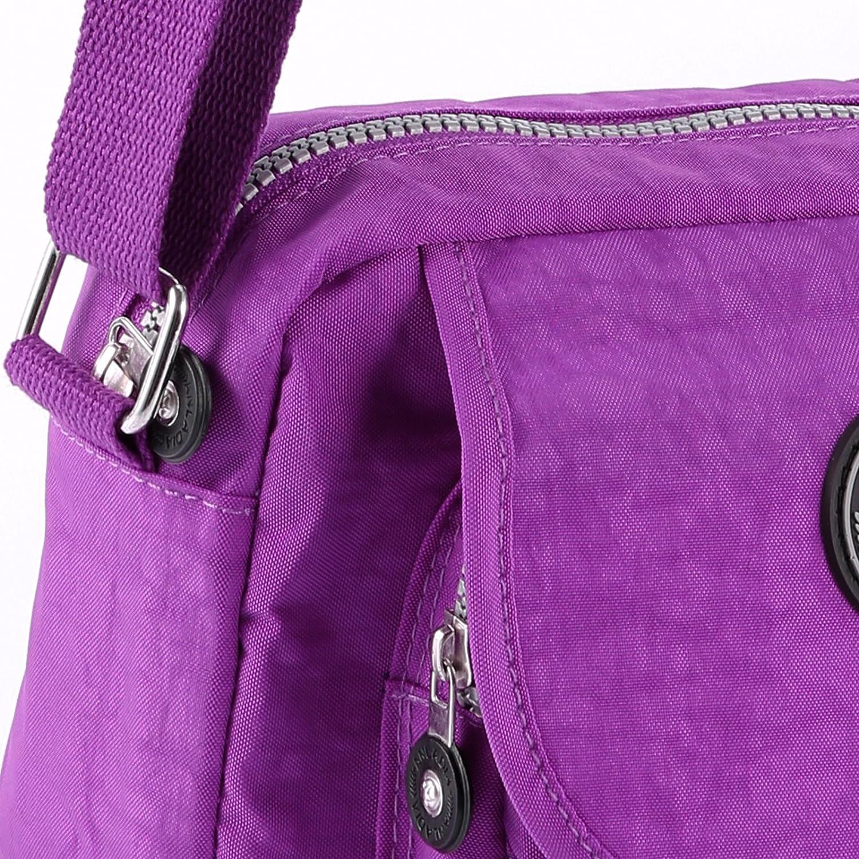 Fraulein38 Fashion Ladies Mini Light Weight Cross Body Messenger Bag
