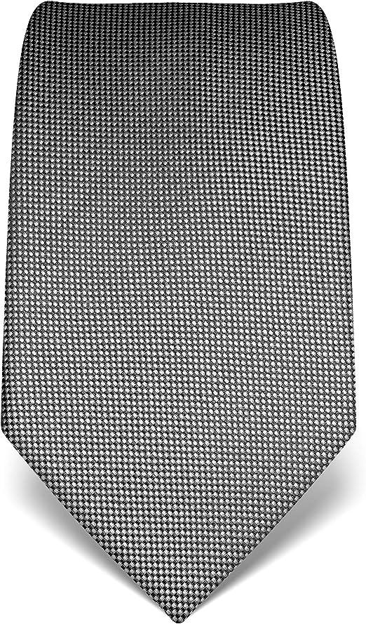 Krawatte grau seide Manschettenknöpfe Made in Italy hochzeit business UVP € 44