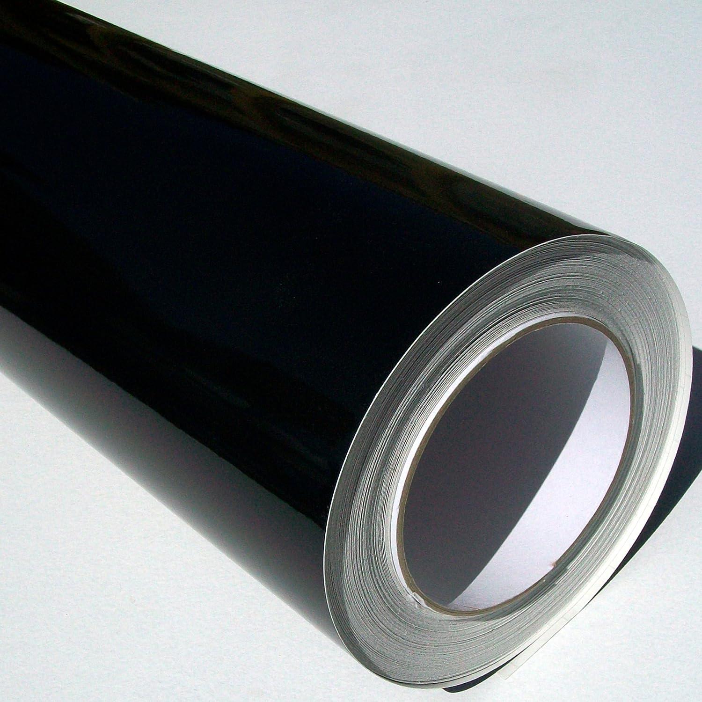 Metamark Rollo de Vinilo Autoadhesivo 10 m x 61 cm, Color Negro ...