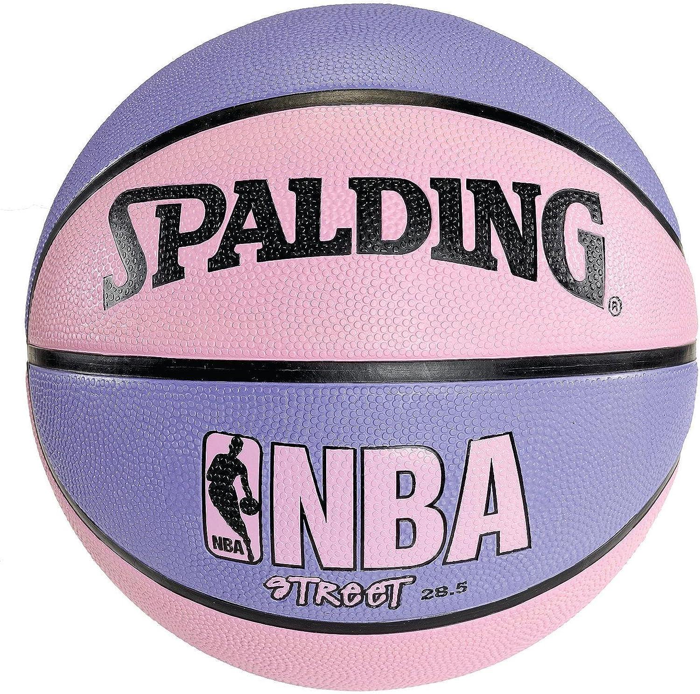 Amazon.com: Spalding NBA Street – Balón de baloncesto rosa y ...