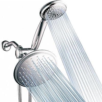 DreamSpa 3-way 8-Setting Rainfall Shower Head and Handheld Shower Combo