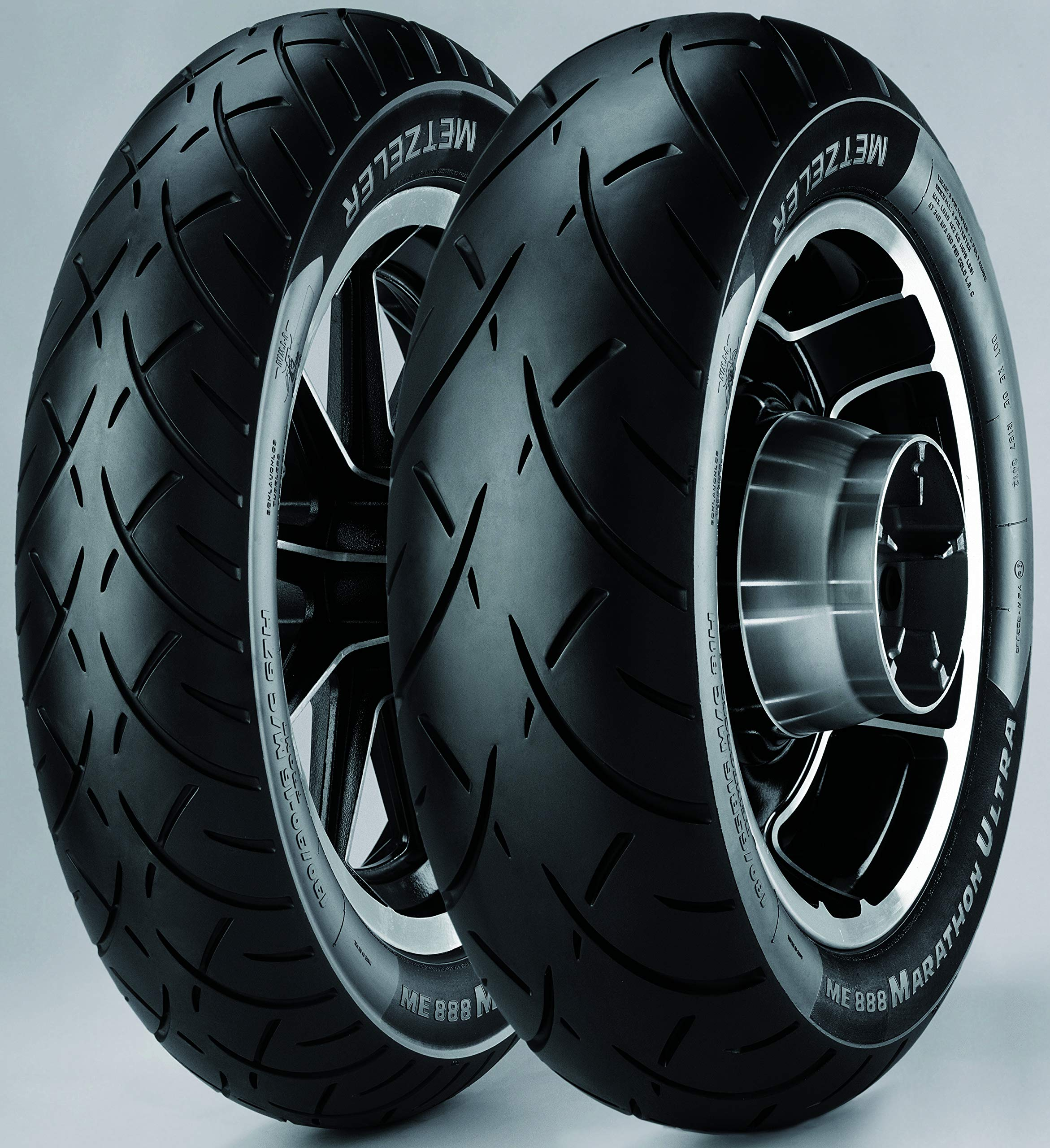 Metzeler 2318900 ME888 Marathon Ultra Rear Tire - MU85B16, Load Rating: 77, Position: Rear, Rim Size: 16, Speed Rating: H, Tire Application: Cruiser, Tire Size: MU85-16, Tire Type: Street by Metzeler