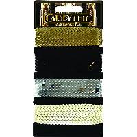 Craftime - Fili di paillettes, elementi di bigiotteria, serie Gatsby