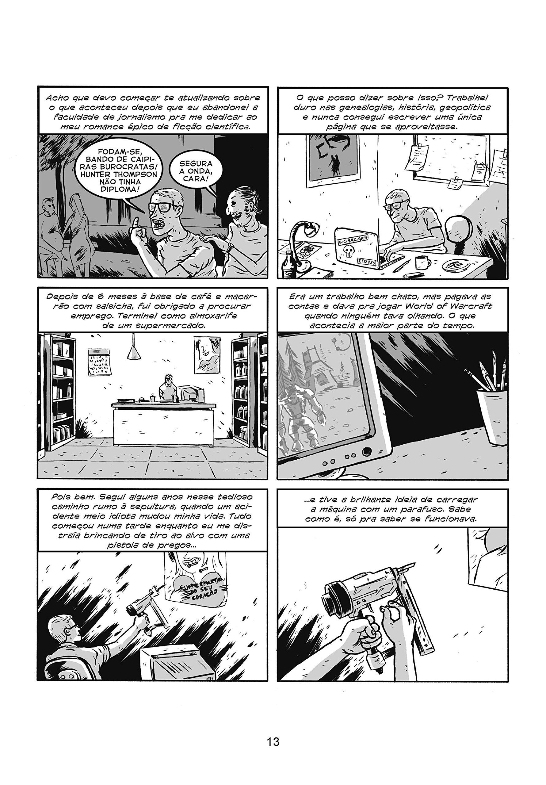 Parafusos, Zumbis e Monstros do Espaço (Em Portuguese do Brasil): Juscelino Neco: 9788563137081: Amazon.com: Books
