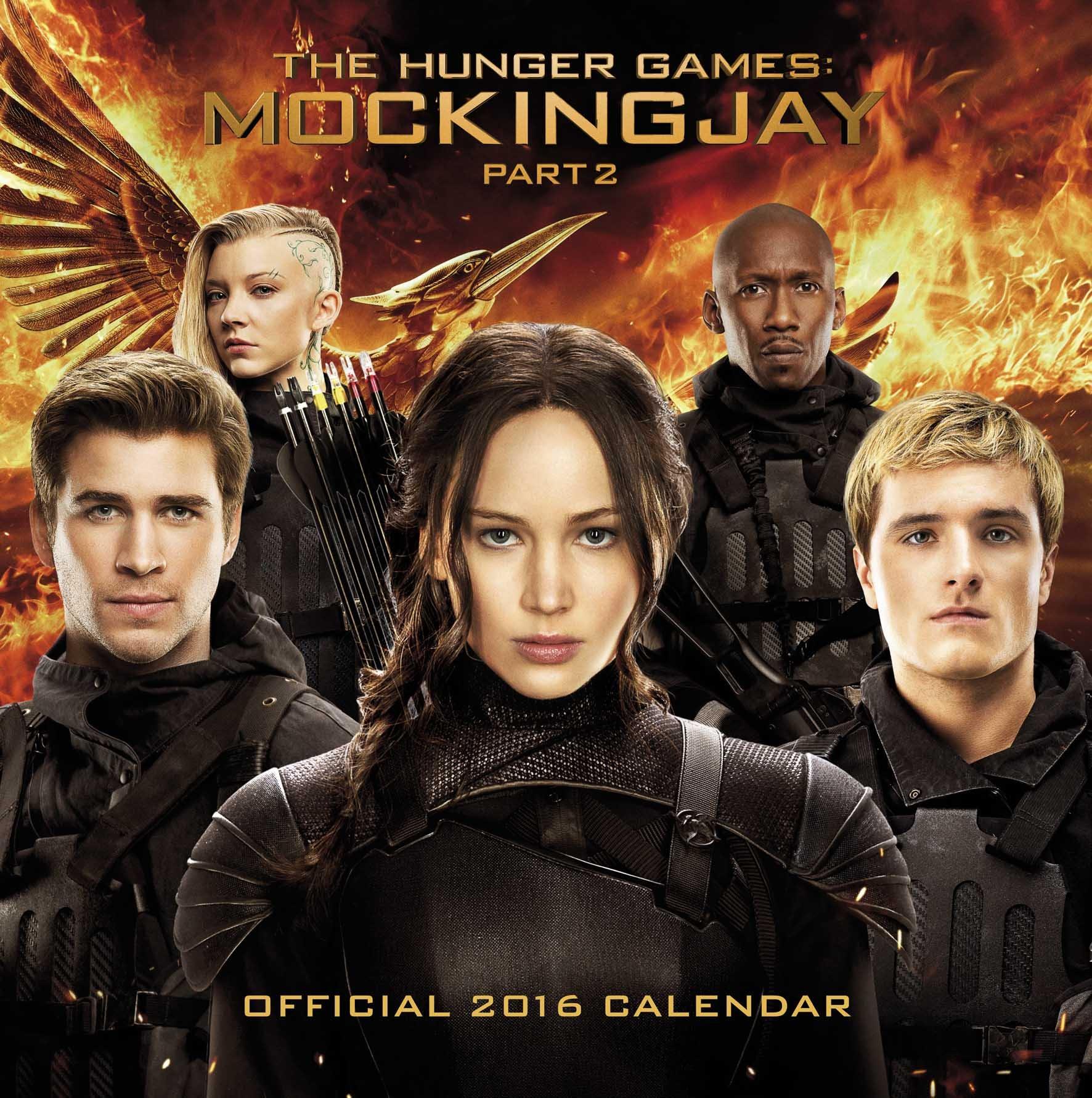 The Official The Hunger Games Mockingjay 2016 Calendar Part 2