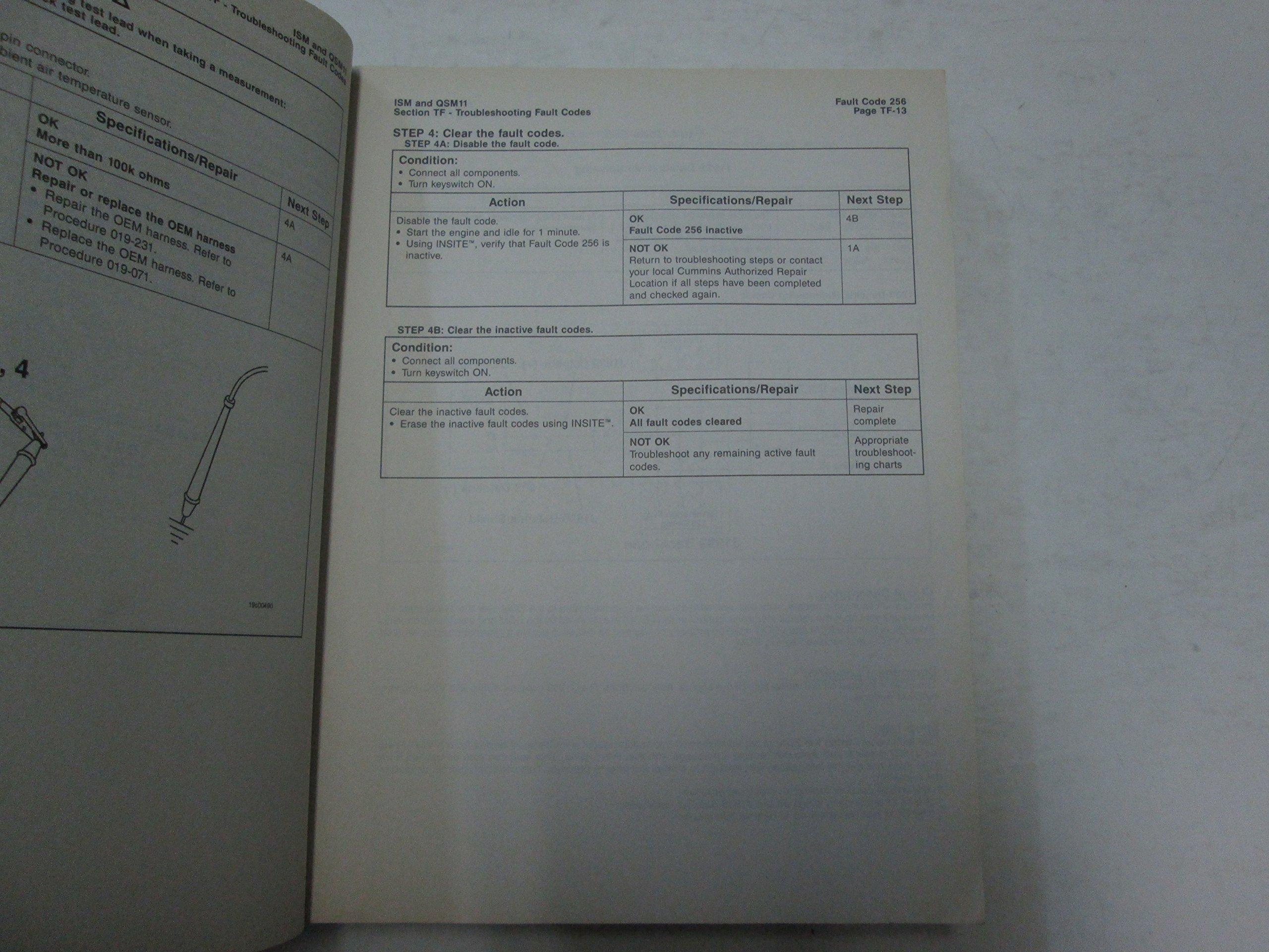 1999 Cummins ISM & QSM11 Engines ECS Troubleshooting