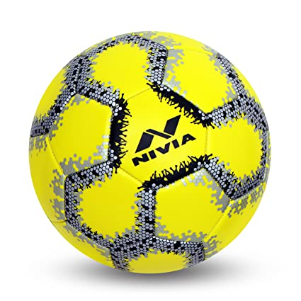 24f8fac2ac72 Buy NIVIA UTSAV Machine Stitch Football Size-3 Online at Low Prices in India  - Amazon.in