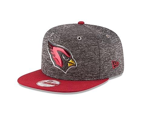 5af4b7cb251baa New Era NFL Arizona Cardinals 2016 Draft 9Fifty Snapback Cap, One Size,  Heather Gray