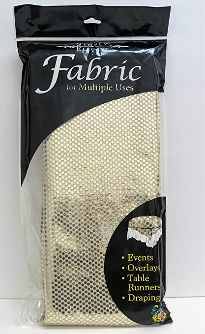 44 Shiny 3mm Spangle Knit Fabric 5 Yards Table Covers Amazon Canada