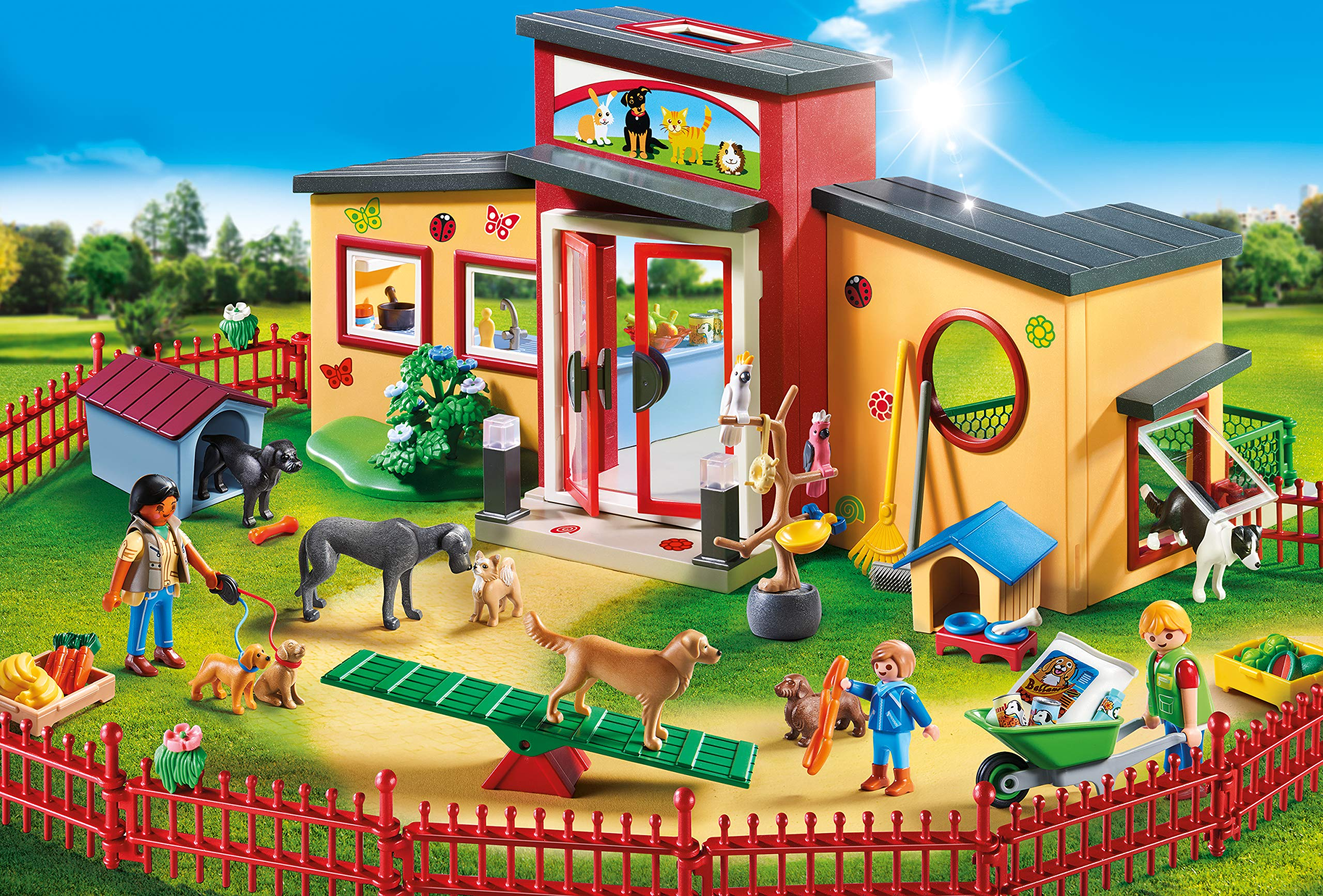 PLAYMOBIL® Tiny Paws Pet Hotel Multicolor by PLAYMOBIL® (Image #4)