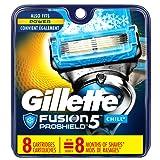 Amazon Price History for:Gillette Fusion ProShield Chill Men's Razor Blade Refills, 8 Count, Mens Razors / Blades