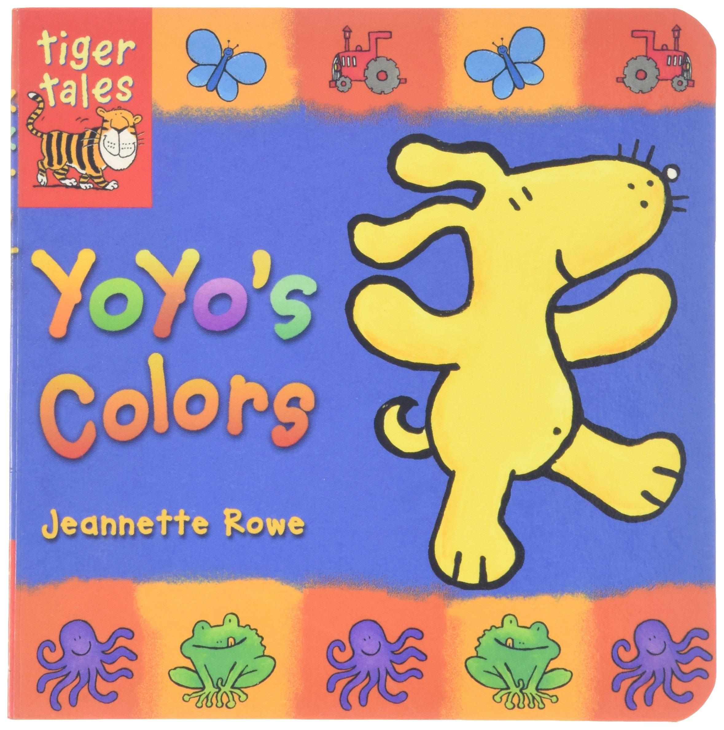 Read Online Yoyo's Colors (Yo Yo Board Books) PDF