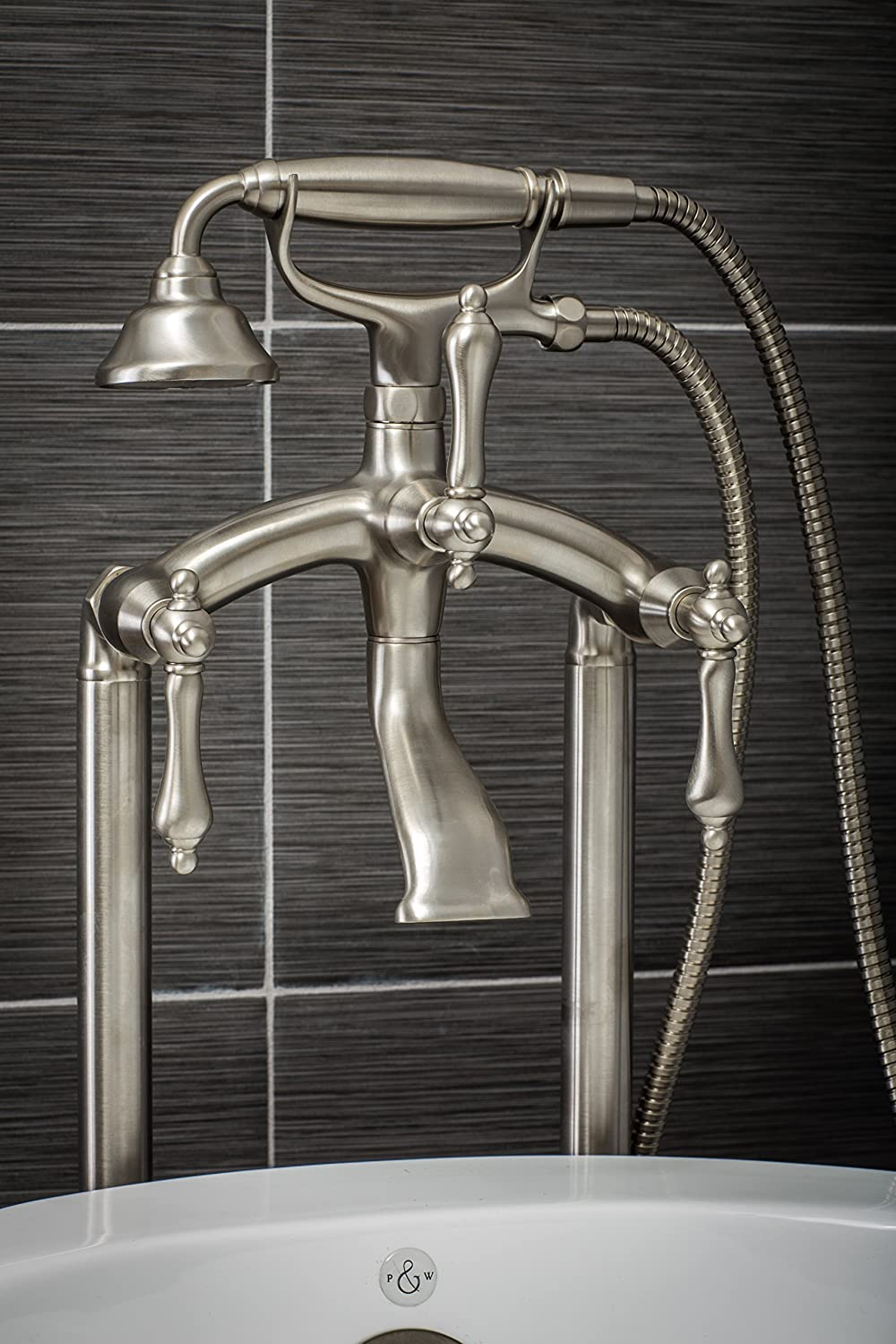 Luxury Clawfoot Tub or Freestanding Tub Filler Faucet, Vintage ...