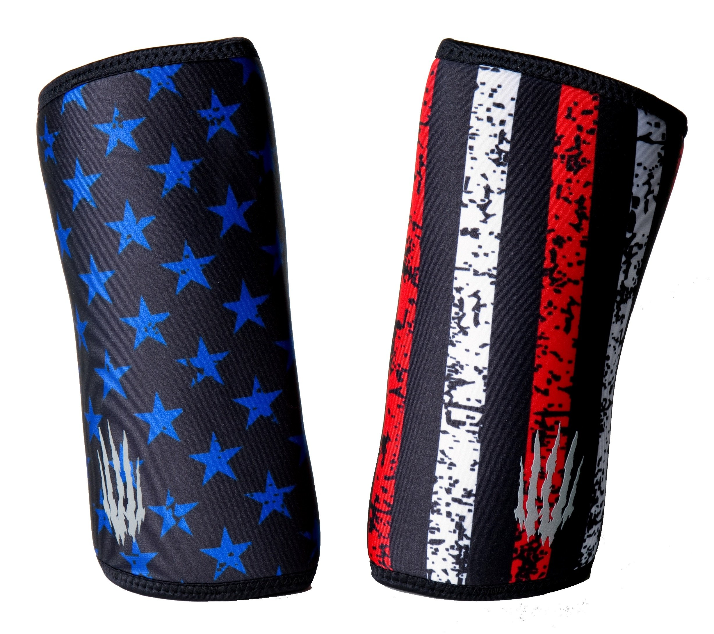 Bear KompleX Elbow Sleeves (Sold AS A Pair of 2) for Weightlifting, Powerlifting, Wrestling, Strongman, Bench Press, Cross Fitness, and More. Compression Sleeves Come in 5mm Thickness Elbow Star M