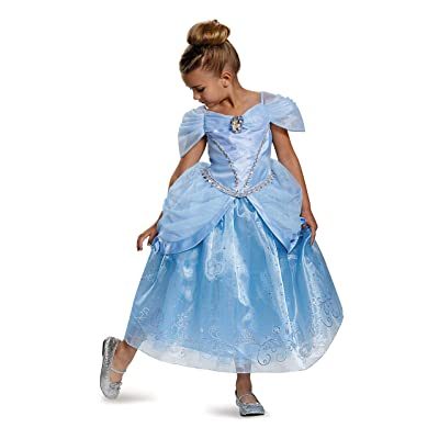 Prestige Disney Princess Cinderella Costume, Small/4-6X: Toys & Games