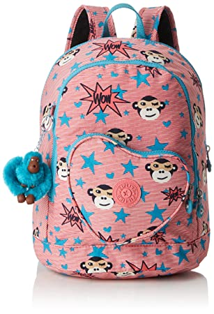 Kipling Heart Backpack Sac à dos enfants, 32 cm, 9 liters, (ToddlerGirlHero)