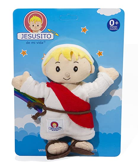Child Jesus Plush toy 20 cm. - Peluche Jesusito (Ref. 1002)