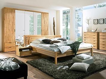 moebel-eins Ramie Komplett-Schlafzimmer Kernbuche geölt: Amazon.de ...