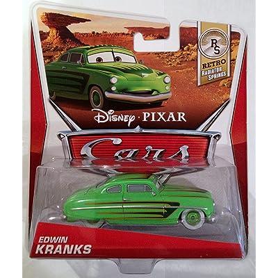 Disney/Pixar Cars, Retro Radiator Springs, Edwin Kranks Die-Cast Vehicle: Toys & Games