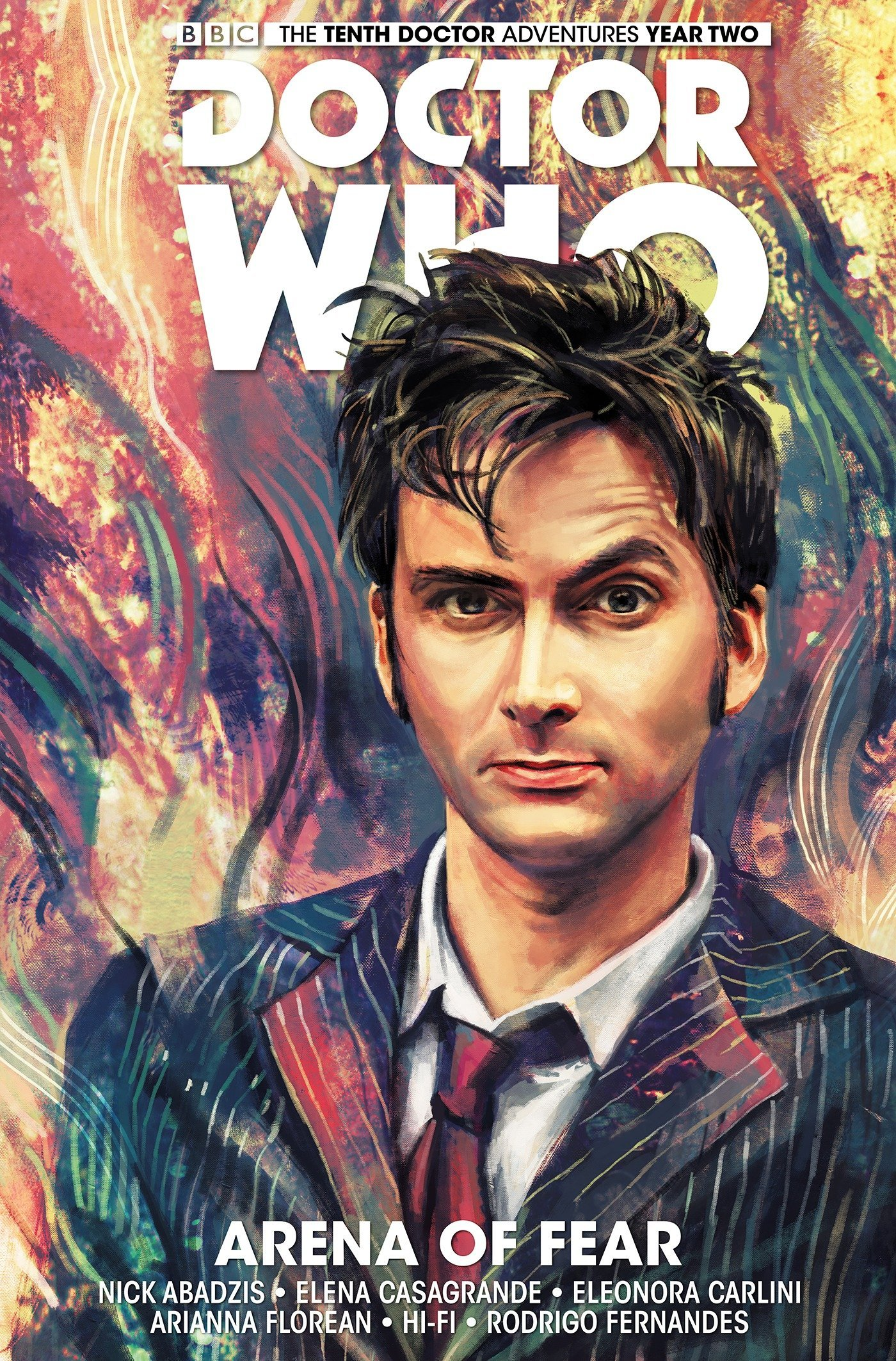 Doctor Who: The Tenth Doctor Volume 5 - Arena of Fear PDF