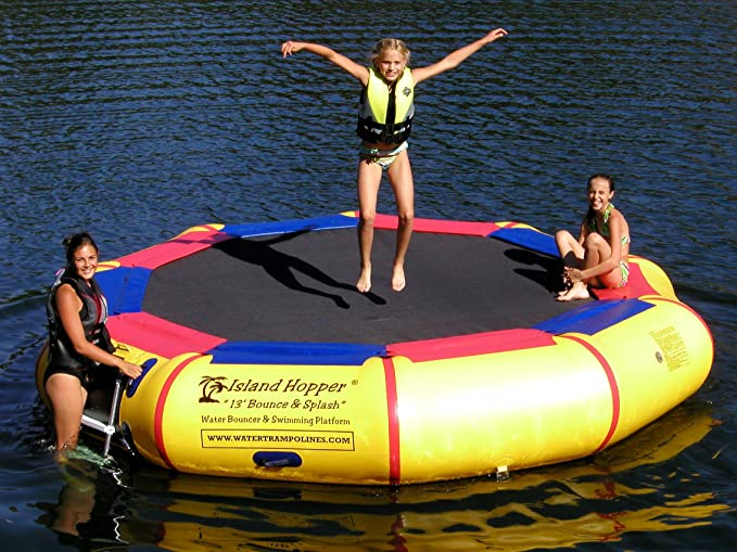 Island Hopper 13' - Runner Up Water Trampoline