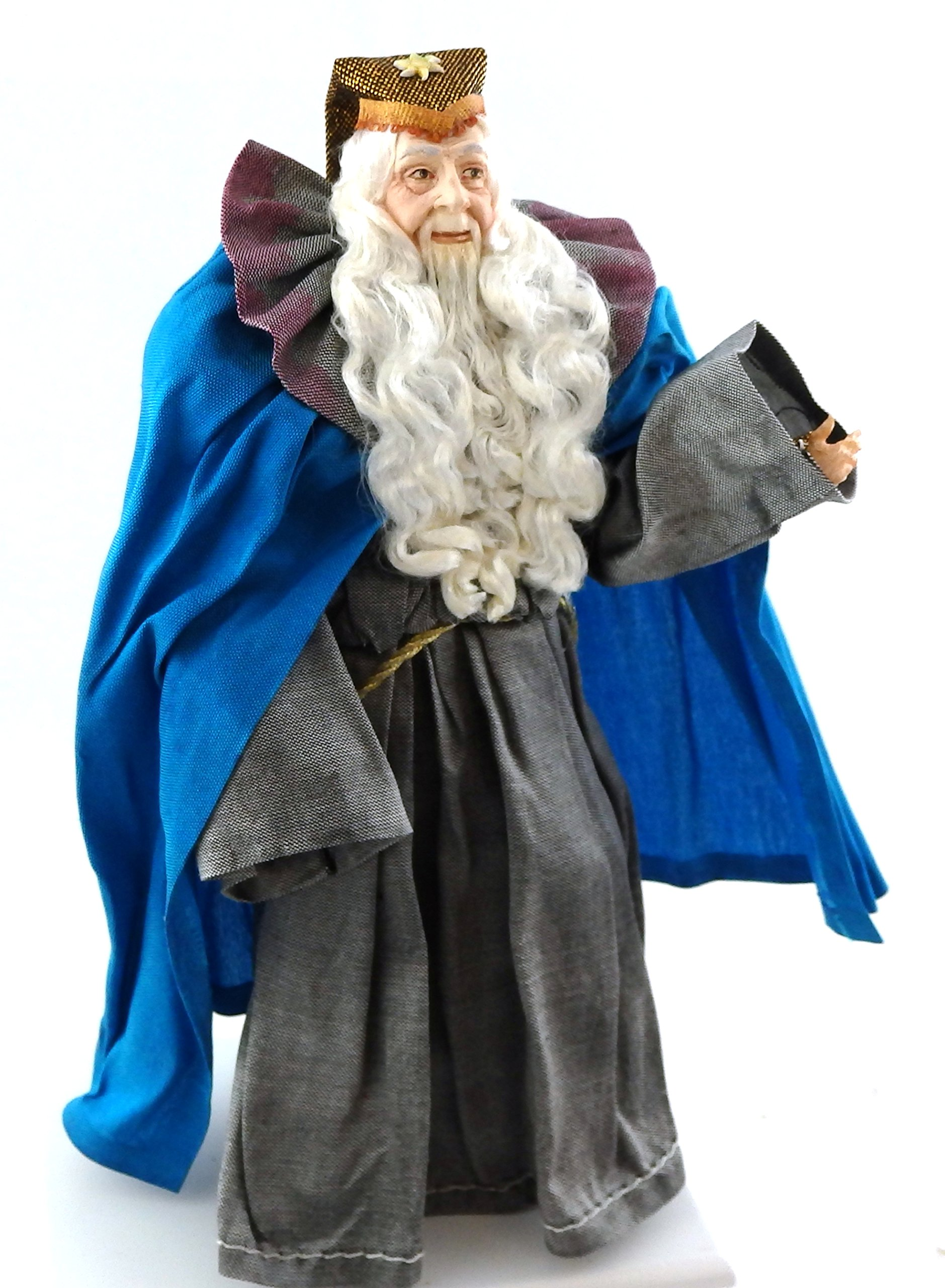 Melody Jane Dolls Houses Falcon Miniature People 1:12 Polyresin Figure Merlin the Wizard