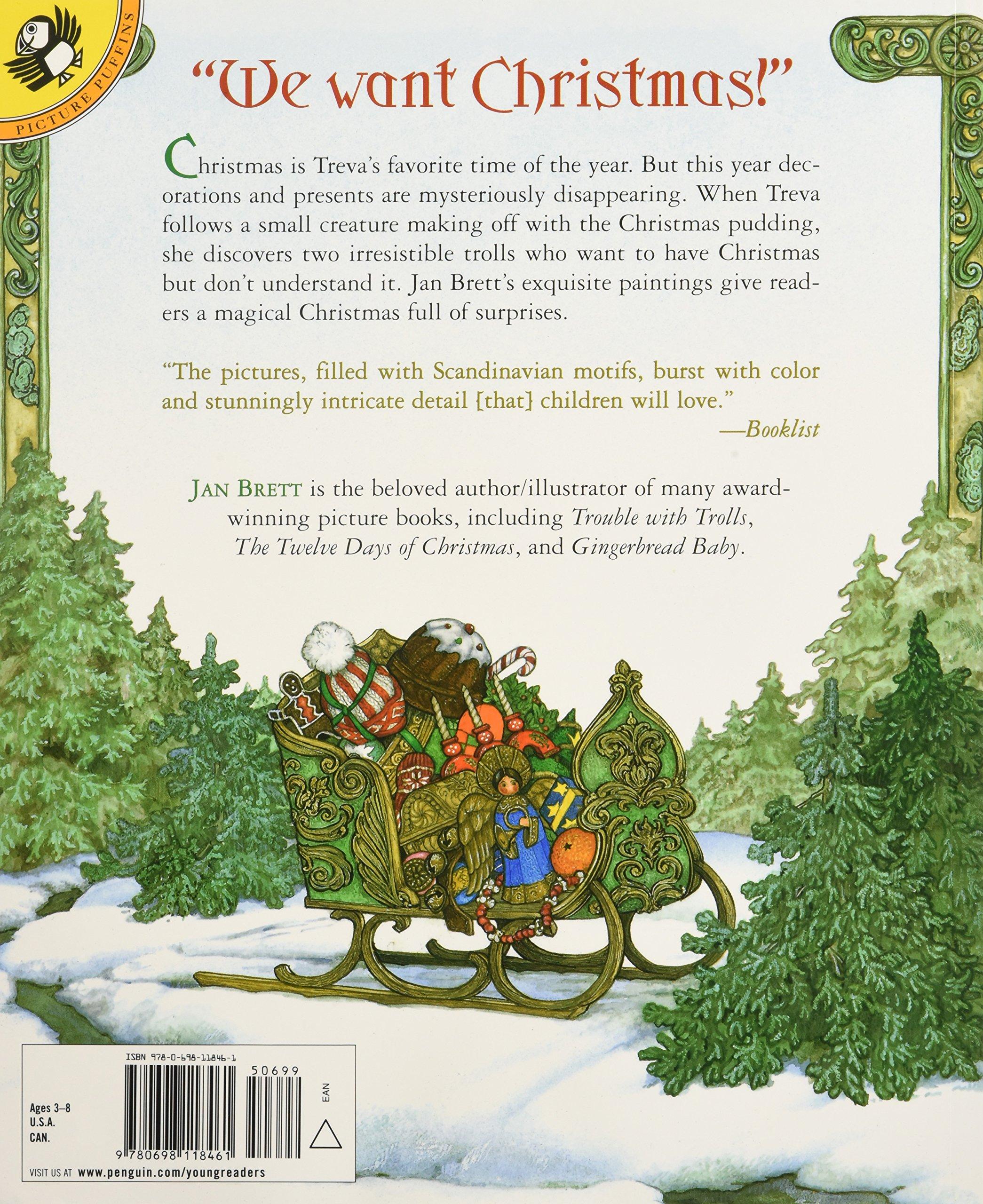 Christmas Trolls: Jan Brett: 9780698118461: Amazon.com: Books