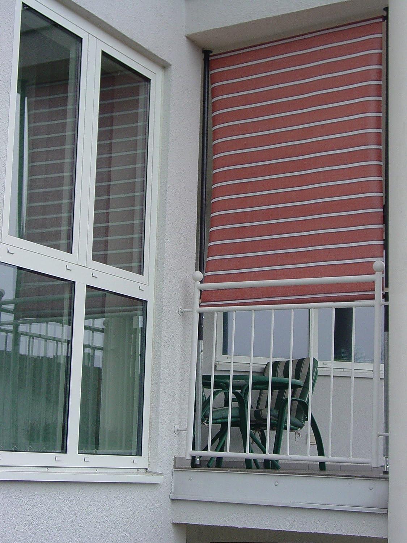 Angerer Balkon Sichtschutz Nr 4900 terracotta 120 cm breit 2318
