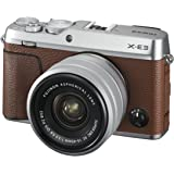 Fujifilm X-E3/ XC15-45mm PZ Kit Color, Brown