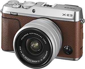 Fujifilm X-E3/ XC15-45mm PZ Kit Color, Brown