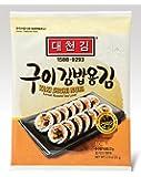 DAECHUN LAVER Sushi Nori, geröstetes Meer (10 volle Blätter) Silber Grad 22g Beutel