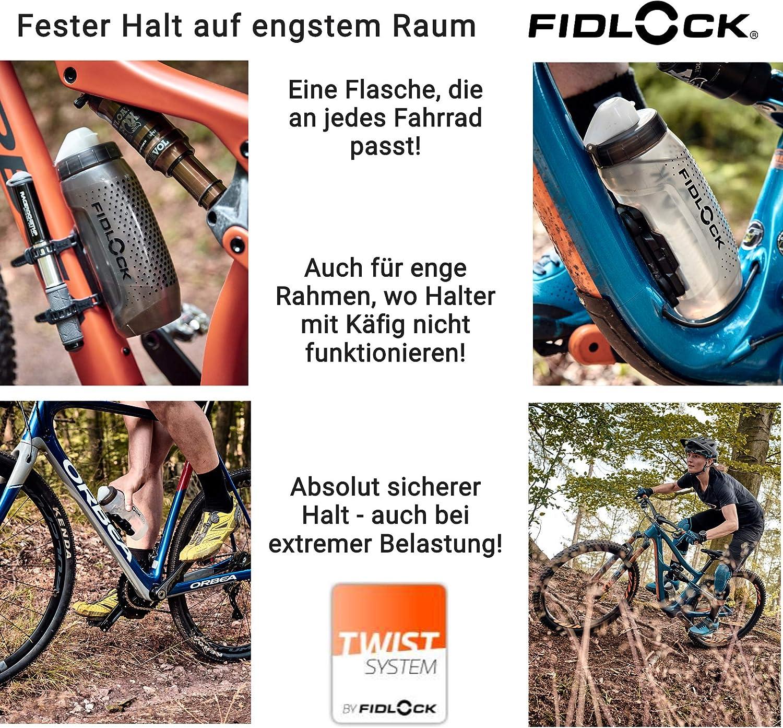 bicicleta con soporte para bebidas soporte para botellas soporte para botellas bicicleta Bottle con base magn/ética para bicicleta FIDLOCK