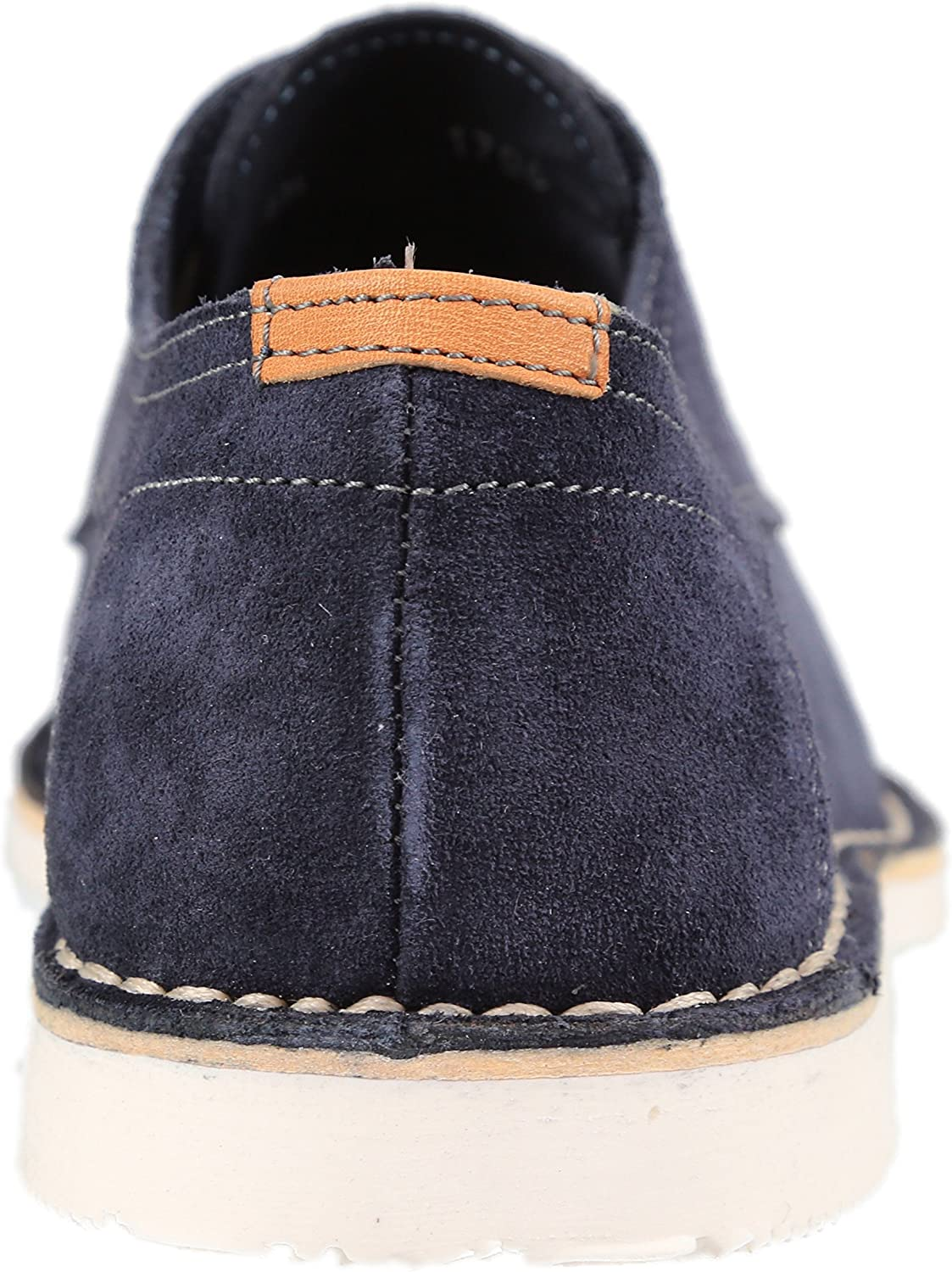 Kenneth Cole Mens Corbett Lace Up Navy Oxfords 8.5M US