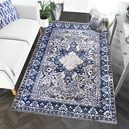 Super Area Rugs Classic Persian Traditional Medallion Living Room Area Rug